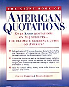 The Giant Book of American Quotations: Over…