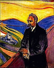 Author photo. Portrait of Friedrich Nietzsche by Edvard Munch, 1906.