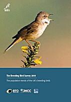 The breeding bird survey 2010 : the…