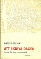 Att skriva dagen : Gunnar Björlings…