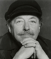 Author photo. Tennessee Williams. UH Photographs Collection.