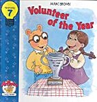 Arthur's Volunteer of the Year by Marc Brown