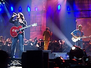 """Author photo. Tears for Fears: Roland Orzabal (left) and Curt Smith (right) performing at the """"Nokia Night of the Proms"""" in Hanover, Germany, 2008<br>From Wikimedia Commons contributor <a href=&quot;http://commons.wikimedia.org/wiki/User:KWa&quot; rel=&quot;nofollow&quot; target=&quot;_top&quot;>KWa</a>"""