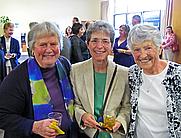 Author photo. Kathleen Healy on right