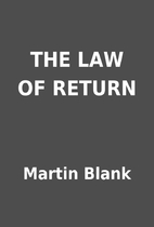 THE LAW OF RETURN by Martin Blank
