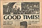 Good Times! (Volume 1, Number 2) 4,000…