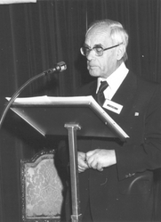 Author photo. Karl Rahner,  SJ, 1975.  Image © Agenzia Fides.