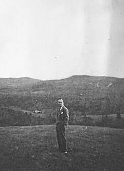 Author photo. Circa 1940