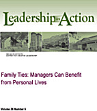 Family Ties: Managers Can Benefit from…