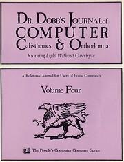 Dr. Dobb's Journal of Computer Calisthenics…