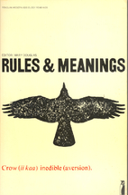 Rules and Meanings: The Anthropology of…