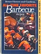 The Barbecue Cookbook by Joan E. Denman