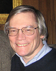 Author photo. Physicist Alan Guth at Trinity College, Cambridge, UK. December, 2007. Photo by Betsy Devine aka Flickr user Betsythedevine