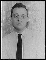 Author photo. Bruce Kellner, 1956. Photo by Carl Van Vechten. (Library of Congress Prints and Photographs Division)