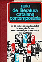 Guia de literatura catalana contemporània…
