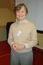 Author photo. Jane Geddes [credit: The Book of Deer Project]