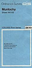 Munlochy: Sheet NH 65 First Series by…