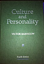Culture and personality by Victor Barnouw