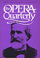 The Opera Quarterly - Vol. 17 Nr 4 by E.…