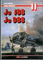 Monografie Lotnicze 33 - Ju 188 / Ju 388 Cz.…