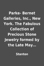 Parke- Bernet Galleries, Inc., New York. The…
