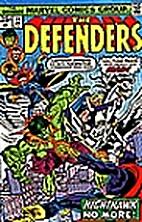Defenders (1972) #31 by Steve Gerber
