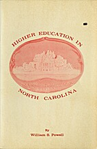 Higher Education in North Carolina by…
