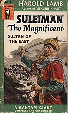 Suleiman the Magnificent by Harold Lamb