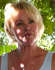 Author photo. Photo credit: Bev Sykes, 2002