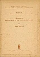 Geschichte der Erforschung der nilotischen…