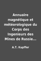 Annuaire magnétique et météorologique…