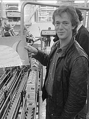 Author photo. Harrie Jekkers in 1988 [credit: Rob C. Croes / Anefo; source: Nationaal Archief and Wikipedia]