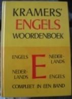 Kramers' Engels woordenboek by Jacob Kramers