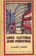 Lino Cutting and Printing by Claude Flight