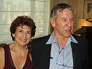 Author photo. Amos and Nily Oz (Credit: David Shankbone, Sept. 24, 2008)