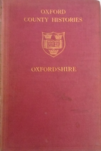 Oxfordshire by H. A. Liddell