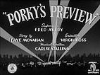 Porky's Preview by Tex Avery