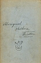Aboriginal American authors and the…