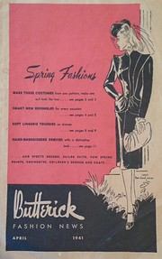 Butterick Fashion News, 1941 April by The…