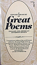 Concise Treasury of Great Poems, A: English…