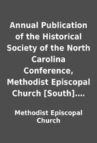Annual Publication of the Historical Society…