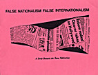 False nationalism, false internationalism:…