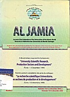 AL JAMIA, Journal of the Federation of the…