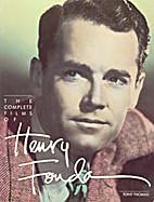 The Films of Henry Fonda by Tony Thomas