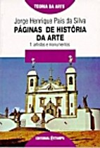 Páginas de História da Arte - Vol. I -…