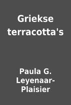 Griekse terracotta's by Paula G.…