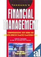 Financial Management by Ravi M. Kishore