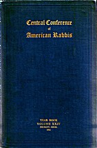 Central Conference of American Rabbis…