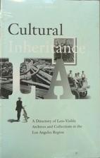 Cultural Inheritance L.A. by European…