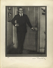 Author photo. Photo by Alvin Langdon Coburn, Jan. 15, 1908, London<br>Courtesy of the <a href=&quot;http://digitalgallery.nypl.org/nypldigital/id?483417&quot;>NYPL Digital Gallery</a><br>(image use requires permission from the New York Public Library)